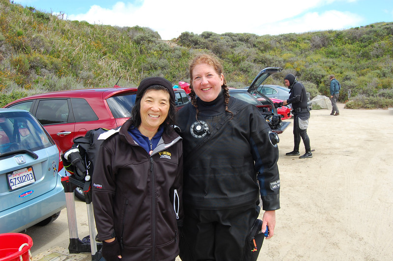 Naomi Wooten and me at Point Lobos