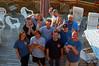 The group at Winter Summer Inn on the back deck<br /> Front row: Heidi Wilken, Doug Biffard, David Jennings, Dave Rintoul<br /> Middle row: Dave Smith, David Todd, Todd Cliff<br /> Back row: Janna Nichols, Randy Tyle, Jonathan Lavan