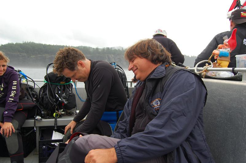 Doug Biffard enjoying a laugh