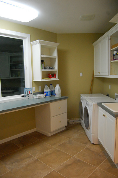 Laundry room - you can wash/dry your wet drysuit undergarments here!
