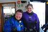 Laura and Heidi - dive buddies for the day