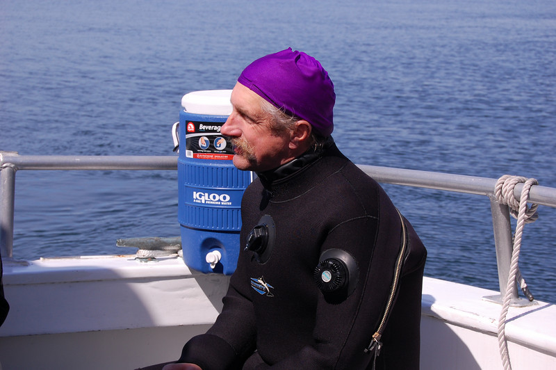 Jim and his dive do-rag