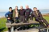 Seven Seas Scuba's Digital Underwater Photography class - with park ranger, Johnny Johnson. Mark Verdecia, Wayne Hainsworth, Jeff Vance and Andy Harwood.