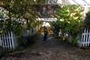 Garden path down to the marina