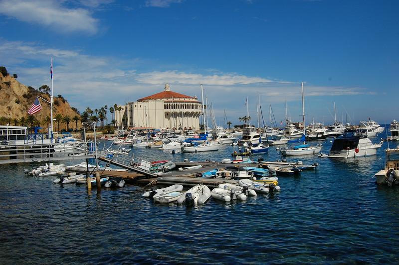 Casino Point overlooking the marina