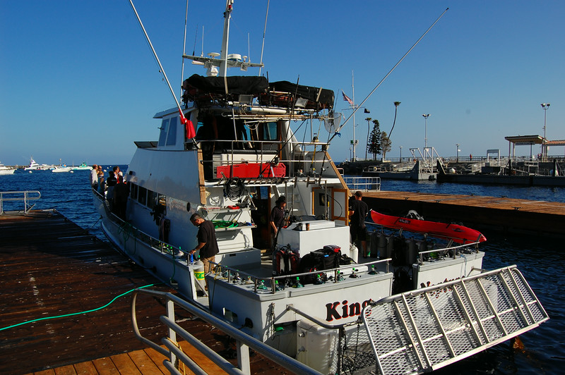 The King Neptune dive boat