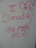 Chris wrote this on the whiteboard in his room