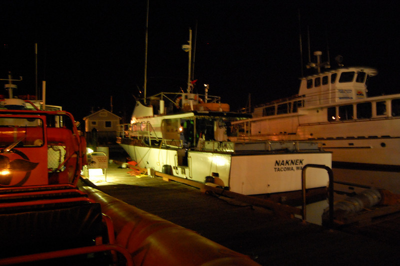 Naknek at night