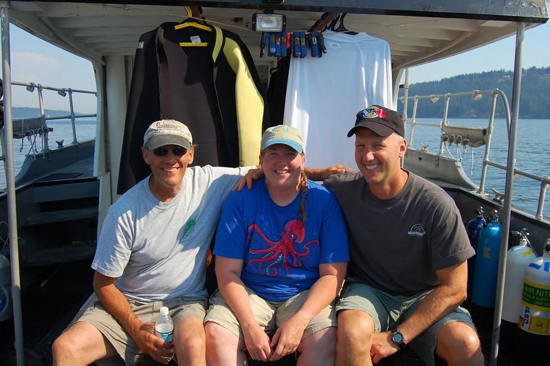 Phil, me and Joe aboard Naknek
