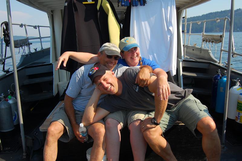 Phil, me and Joe