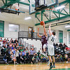 Ayer Shirley's Ben Hebert drives in for two in the first half of Tuesday night's Division 4 Central Mass first-round loss to Sutton. Nashoba Valley Voice/Ed Niser
