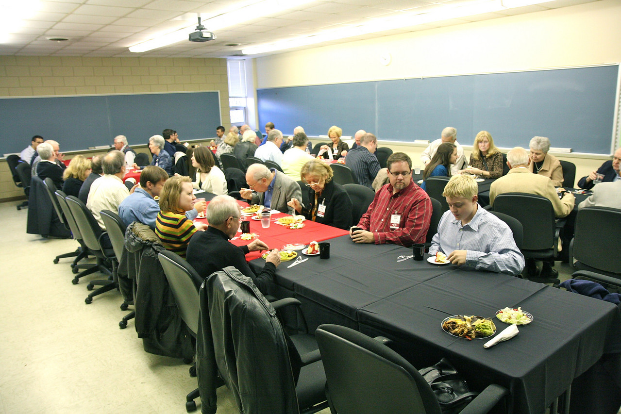A good crowd at this year's luncheon.