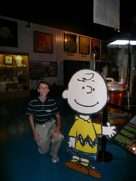 Dr. Zoller and Charlie Brown (from the Apollo 10 mission)