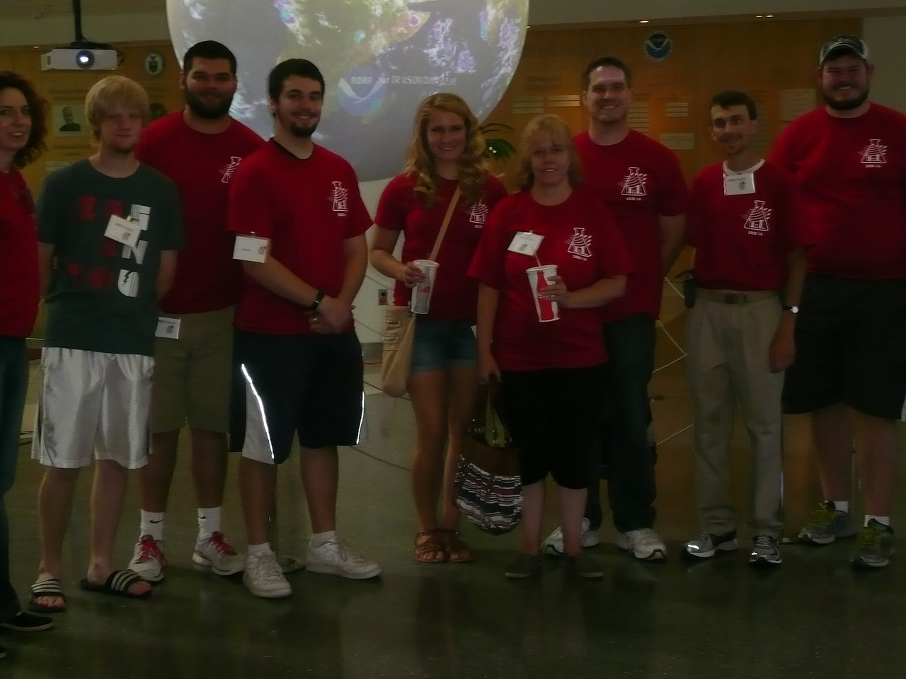 Tour of National Weather Center