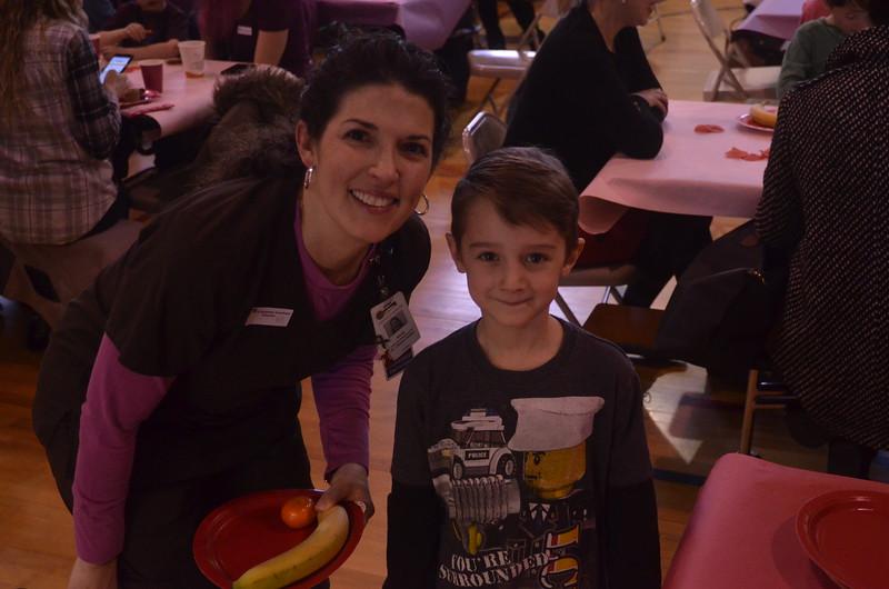 Division Street Elementary School's kindergarten sweetheart breakfast