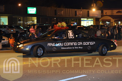 2015-12-07 CAREER Double Front Car in Booneville Chirstmas Parade