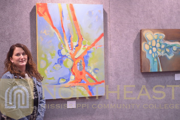 2014-11-04 ART Maria Hughes Art Exhibit