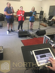 2018-09-04 CC Campus Country using Technology during Rehearsal