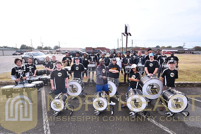 2018-10-31 BAND Percussion with Miss Mississippi Asya Branch