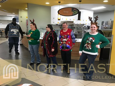 2018-12-05 SODEXO Ugly Christmas Sweater Contest