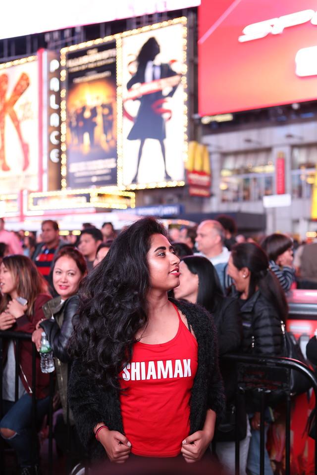 Shiamak USA - Diwali at Time Square
