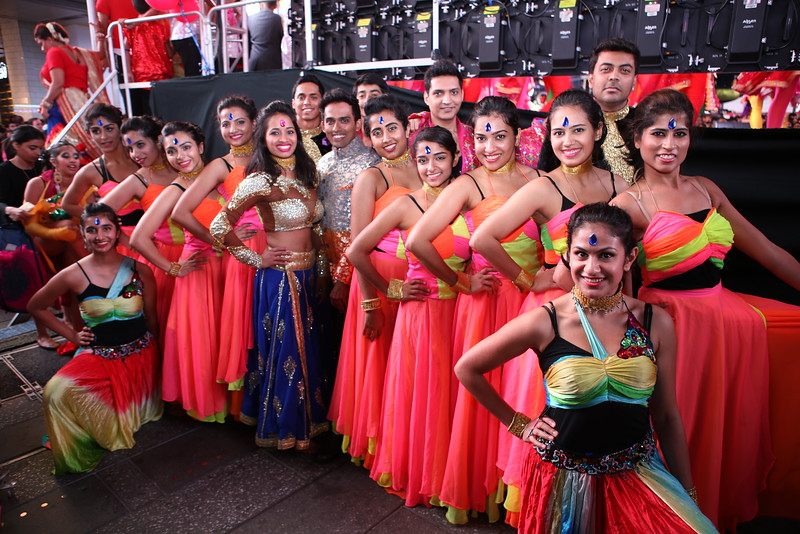 Shiamak USA - Diwali at Time Square