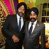 powerful Sikhs-The Sikh American Gurbir Singh Grewalthe first Attorney General in New Jersey and Mayor Hobocen Mayor Ravinder Bhalla during Diwali celebrations on 8th nov 208..pic mohammed Jaffer-SnapsIndia