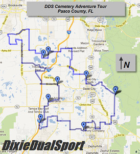 GPS Route Maps