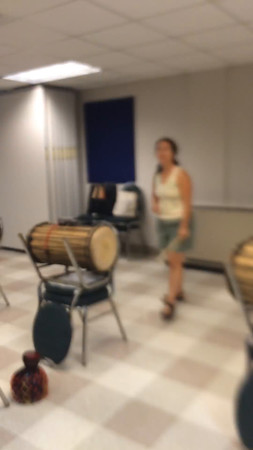 Djagbe Drumming from UUMAC 2015