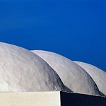 Domes of Whitewashed Mosque, Djerba