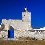 White-washed Mosque in Guellala, Djerba