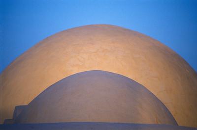 Domes of Jama Fadloud Mosque, Djerba
