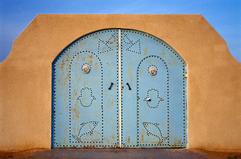 Blue Metallic Door, Djerba