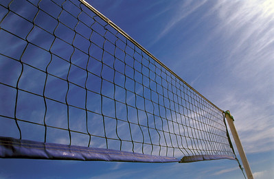 Volleyball Net Against Sky