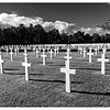 The American National Cemetary near Normandy