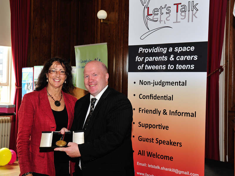 Let's Talk hosted a flagship event during Social Inclusion Week on Tuesday 14th October in the DLR County Council Assembly Hall, Marine Road, Dún Laoghaire starting at 10.30am. This event was aimed at parents and carers of teenagers and covered a broad range of topics like bullying/cyberbullying, drugs/alcohol, mental health, teenage behaviour, sport, body image and lots more! Olympic Gold Champion Michael Carruth launched the event. Information stands ran all day so people could pop in at any time. There was a panel session where people got the opportunity to ask questions to a panel of experts. There were talks throughout the day and it finished with John Lonergan (Former Governor of Mountjoy) doing a talk on Parenting. For further information contact letstalk.shankill@gmail.com