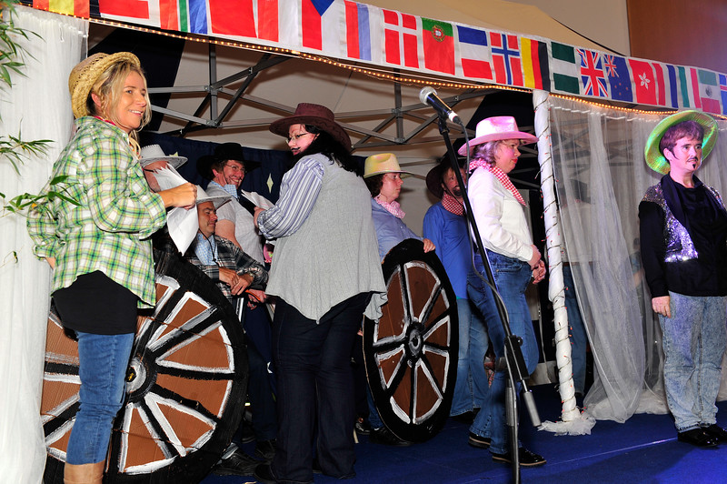 """Photograph: Margaret Brown<br /> RehabCare Dún Laoghaire performed their Variety Show """"Spirit of the Wild West"""" in the Concourse, County Hall, Dún Laoghaire, on Thursday 16th October 2014 as part of the dlr Social Inclusion Week which ran from 11-18 October 2014. For further information on SIW 2014, contact Pat Coffey dlr Social Inclusion Officer at +353.1.2047269 or email pcoffey@dlrcoco.ie"""