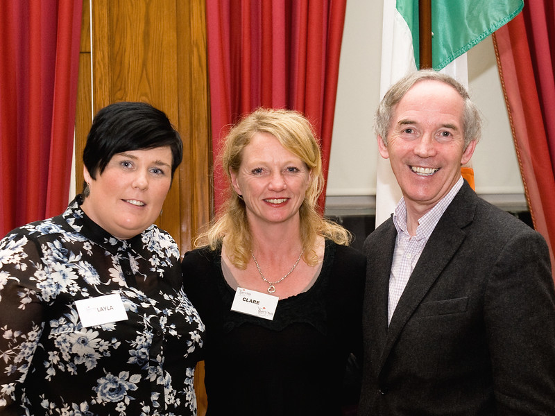 Image features 'Let's Talk' organisers Layla Moroney and Clare Perry with John Lonergan (former Governor of Mountjoy) who gave a talk on Parenting.<br /> Photograph: Margaret Brown <br /> <br /> Let's Talk hosted a flagship event during Social Inclusion Week on Tuesday 14th October in the DLR County Council Assembly Hall, Marine Road, Dún Laoghaire starting at 10.30am. This event was aimed at parents and carers of teenagers and covered a broad range of topics like bullying/cyberbullying, drugs/alcohol, mental health, teenage behaviour, sport, body image and lots more! Olympic Gold Champion Michael Carruth launched the event. Information stands ran all day so people could pop in at any time. There was a panel session where people got the opportunity to ask questions to a panel of experts. There were talks throughout the day and it finished with John Lonergan (Former Governor of Mountjoy) doing a talk on Parenting. For further information contact letstalk.shankill@gmail.com