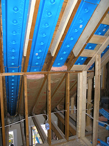 AIR BAFFLES AND ATTIC SPACE