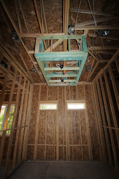DROP DOWN SOFFIT - WALK IN CLOSET - MASTER BR AREA