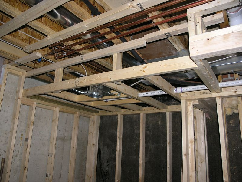 SOFFIT FRAMING EXAMPLE - STEEL