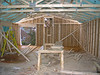 Combination of Scissors and King-Post Truss