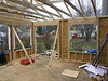 King-Post Truss - Some call this a Common Truss - usually can accommodate spans up to 25 feet