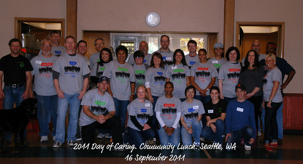 2011 Day of Caring at Community Lunch