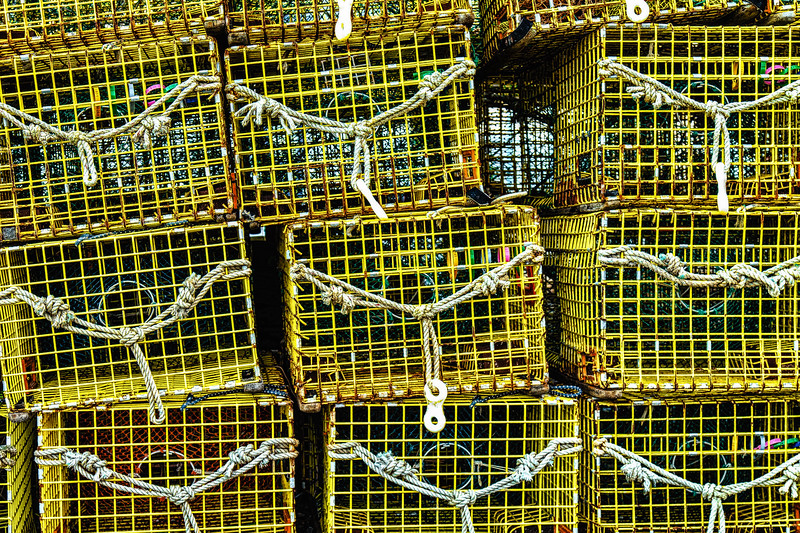 Lobster Traps, Rockport