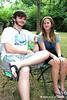 20110717 Doak Turner's 100th 3rd Sunday 016 Blake Spann w Katelyn Barham