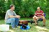 20110717 Doak Turner's 100th 3rd Sunday 020 Joe Oczerklewicz w Paul Ladendorf