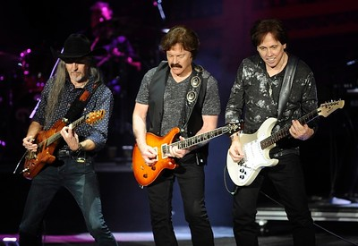 May 12, 2016 Journey, Doobie Brothers and Dave Mason perform at Irvine Meadows Amphitheater. Photo: Kelly A. Swift