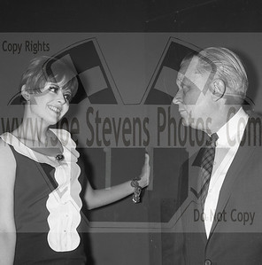 "Deborah Walley with the owner of the Wyandotte Theater, Howard Denial, where she & Dwayne Hickman were on tour for their movie Ski Party in 1965.  ""Ski Party"" was a movie that Dwayne Hickman (Dobie Gillis) & Deborah Walley were in. The movie came out in 1965. Here, in this series of photo's that Joe Stevens captured at the Wyandotte, MI Theater are of Dwayne Hickman & Deborah Walley on a tour performance promoting their movie ""Ski Party"". Frankie Avalon was also in the movie playing the ski instructor and this movie, being one in the last of the Muscle Beach type movies. Leslie Gore & James Brown performed their hit songs in ""Ski Party"" too. Now Wyandotte Theater in Southeast Michigan, was host to many big movie starts throughout the silver screen era up until the 60's & 70's until it was torn down in the 90's. Across the street though the city street long hotel still stands that use to house the actors & singers overnight where they were entertained in the night clubs within. Wyandotte is known for having the most bars & nightclubs than any other city in MI & competing with other states. I have photo's of other stars in this gallery too but while your looking at Dobie Gillis & Deborah, also check out this trailer I found on U-Tube of the movie ""Ski Party"" in which they were promoting in these photo's. http://youtu.be/HZo954DwLhA"