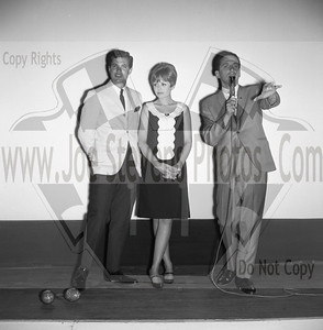 """Ski Party"" was a movie that Dwayne Hickman (Dobie Gillis) & Deborah Walley were in. The movie came out in 1965. Here, in this series of photo's that Joe Stevens captured at the Wyandotte, MI Theater are of Dwayne Hickman & Deborah Walley on a tour performance promoting their movie ""Ski Party"". Frankie Avalon was also in the movie playing the ski instructor and this movie, being one in the last of the Muscle Beach type movies. Leslie Gore & James Brown performed their hit songs in ""Ski Party"" too. Now Wyandotte Theater in Southeast Michigan, was host to many big movie starts throughout the silver screen era up until the 60's & 70's until it was torn down in the 90's. Across the street though the city street long hotel still stands that use to house the actors & singers overnight where they were entertained in the night clubs within. Wyandotte is known for having the most bars & nightclubs than any other city in MI & competing with other states. I have photo's of other stars in this gallery too but while your looking at Dobie Gillis & Deborah, also check out this trailer I found on U-Tube of the movie ""Ski Party"" in which they were promoting in these photo's. http://youtu.be/HZo954DwLhA"